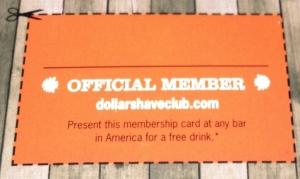 Official Club Membership Card