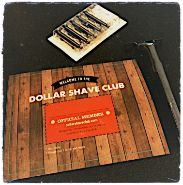 Dollar Shave Club package contents